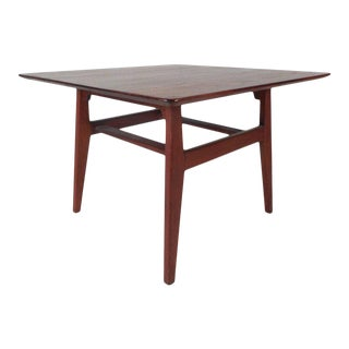 Unique Mid-century Modern Jens Risom End Table For Sale