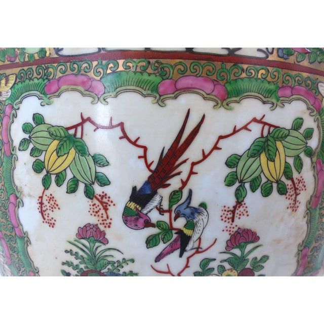 Vintage Asian Goldfish Bowl - Image 6 of 9