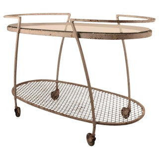 Woodard Bar Cart For Sale