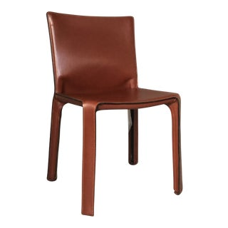 Modern Mario Bellini for Cassina Cab 412 Chair For Sale