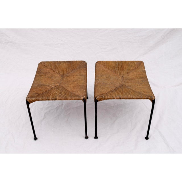 Arthur Uminoff Iron Benches - a Pair - Image 6 of 11