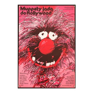 "Vintage Original 1982 Polish Film Poster for ""The Muppet Movie"" For Sale"