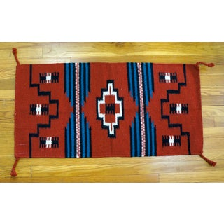 Navajo Style Hand Woven Wool Rug -1′8″ × 3′4″ Preview