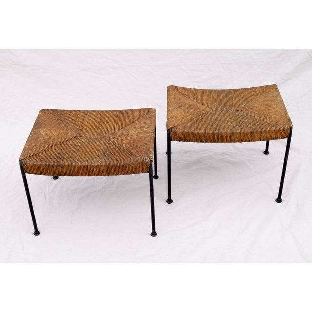 Arthur Uminoff Iron Benches - a Pair - Image 4 of 11