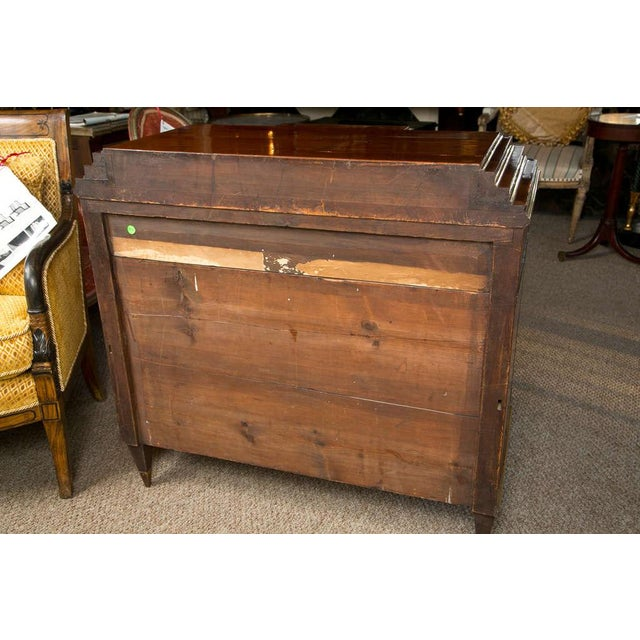 Brown Russian Neoclassical Dresser For Sale - Image 8 of 9