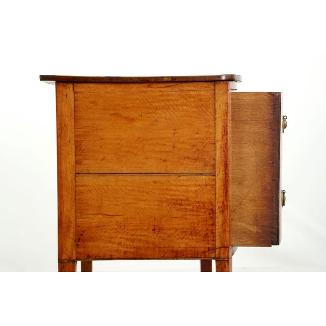 C. 1780 George III Satinwood Commode - Image 10 of 10