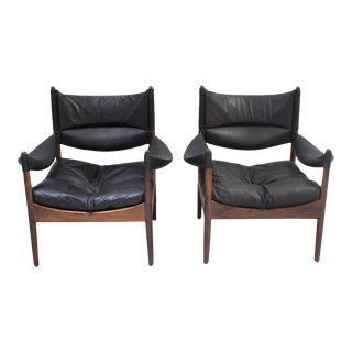 1960s Kristian Vedel for Søren Willadsen Armchairs - a Pair For Sale