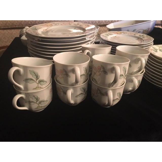 Villeroy & Boch Villeroy & Boch Fruit Garden Pattern Dinnerware - Set for 8 For Sale - Image 4 of 6