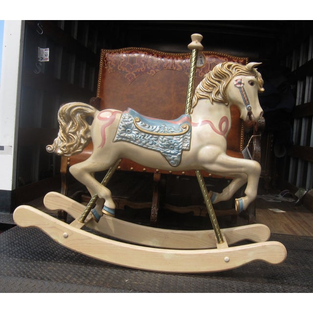 S&S Carvers Carousel Rocking Horse - Image 2 of 8