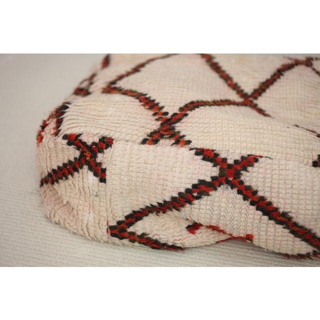 Vintage Moroccan Floor Pillow - Image 2 of 3