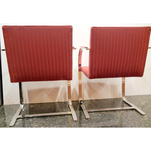 Pair of 1960s Mies Van Der Rohe Brno Chairs for Bruerton - a Pair - Image 6 of 11