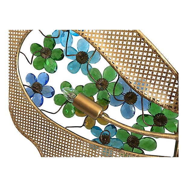 1950s Italian Butterfly Wall Light For Sale - Image 12 of 12