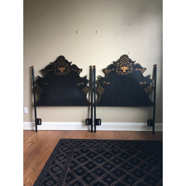 Traditional Traditional Headboards - a Pair For Sale - Image 3 of 9