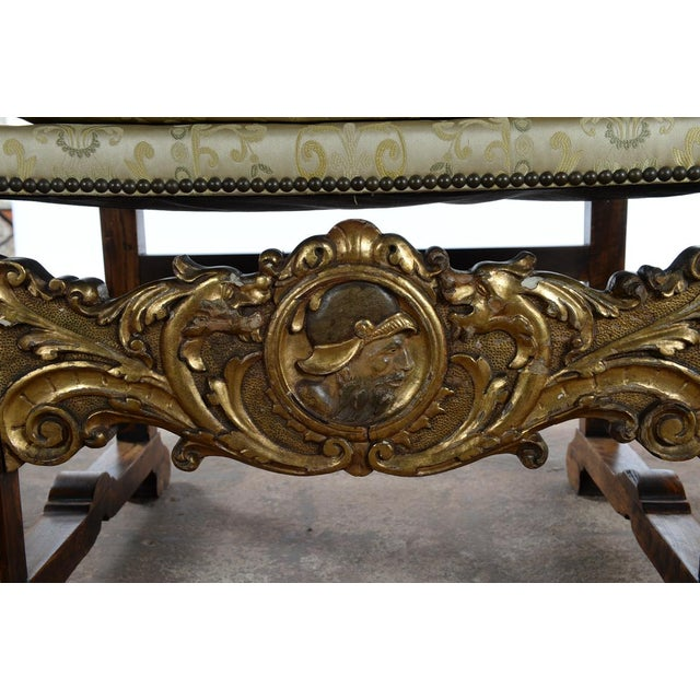 Renaissance Arm Chairs - Pair For Sale In Los Angeles - Image 6 of 10
