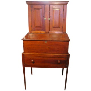 19th Century Traditional Standing Secretary For Sale
