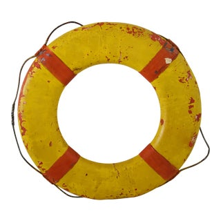 Vintage 1950s Nautical Life Preserver For Sale