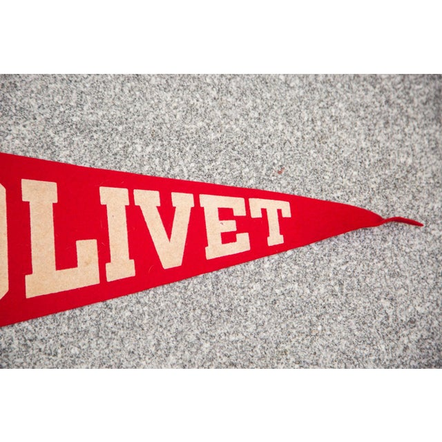 Olivet College Felt Flag - Image 3 of 3