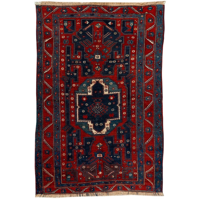 Mid 20th Century Vintage Rug For Sale