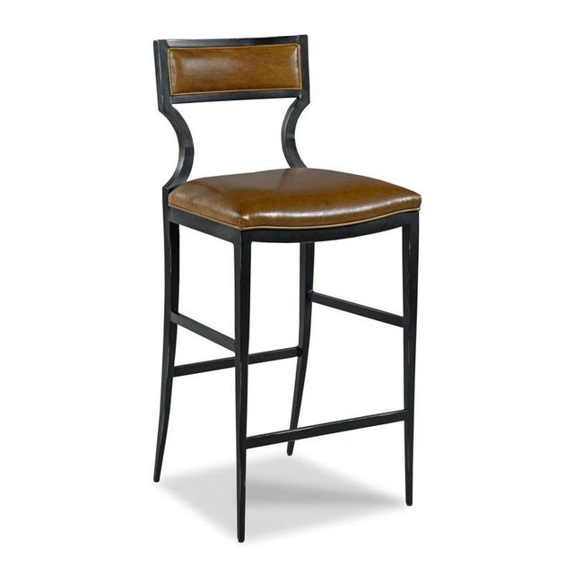 Traditional Modern Wayland Counter Stool For Sale - Image 3 of 3