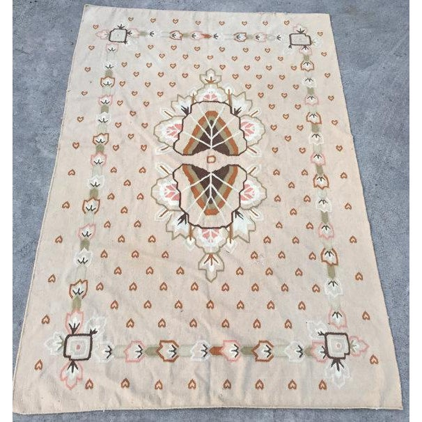"Vintage Hand-Woven Rug - 5'11"" X 9'1"" - Image 2 of 6"