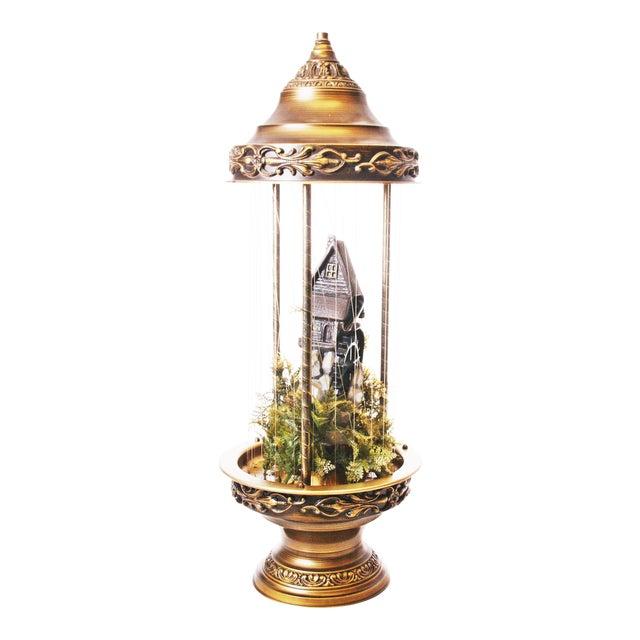 Mid Century Hollywood Regency Mineral Oil Rain Lamp - Image 1 of 11