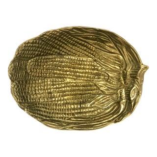 Mid-Century Italian Modern Decorative Brass Bowl For Sale