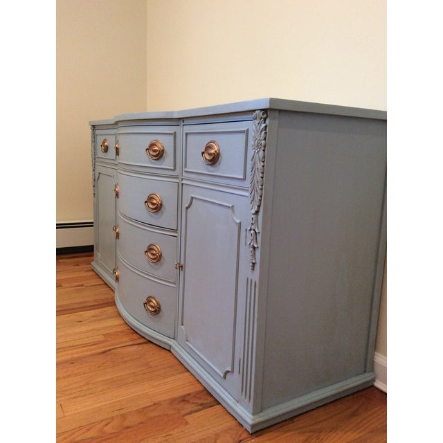 Chalk 1940s Vintage Sideboard/Buffet For Sale - Image 7 of 11