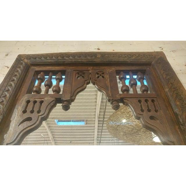 Antique Door Frame Mirror - Image 3 of 3
