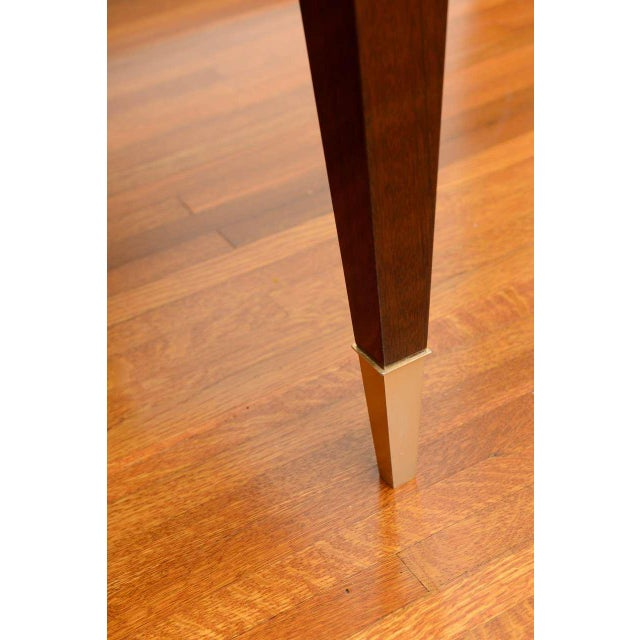 Mid-Century Modern Dining Room Table Lacquered Extension Leaves For Sale In West Palm - Image 6 of 12