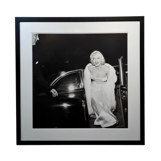 Large Silver Gelatin Photograph of Marilyn Monroe at 1954 Premier by Murray Garret For Sale
