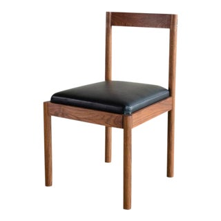 Feast Side Chair in Walnut For Sale