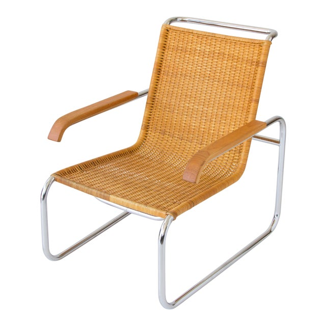 Marcel Breuer for Thonet B35 Rattan Lounge Chair - Image 1 of 7