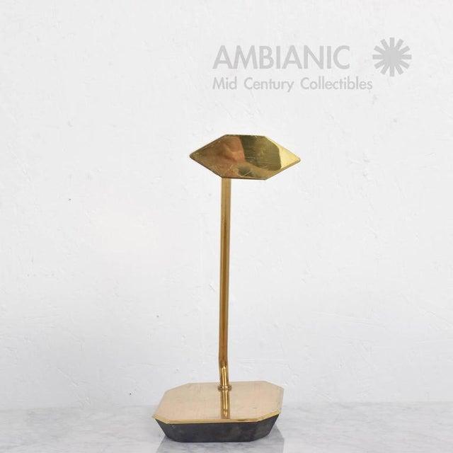 Koch & Lowy Mid-Century Anthony Howard for Koch & Lowy Brass Desk Lamp For Sale - Image 4 of 7