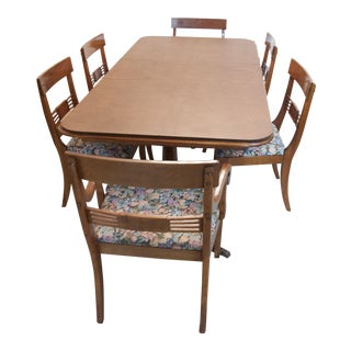 Philippine Mahogany Dining Set For Sale