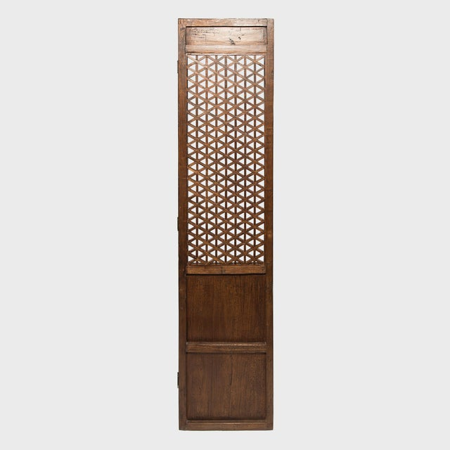 Set of 19th Century Chinese Four Treasure Lattice Panels For Sale - Image 12 of 12