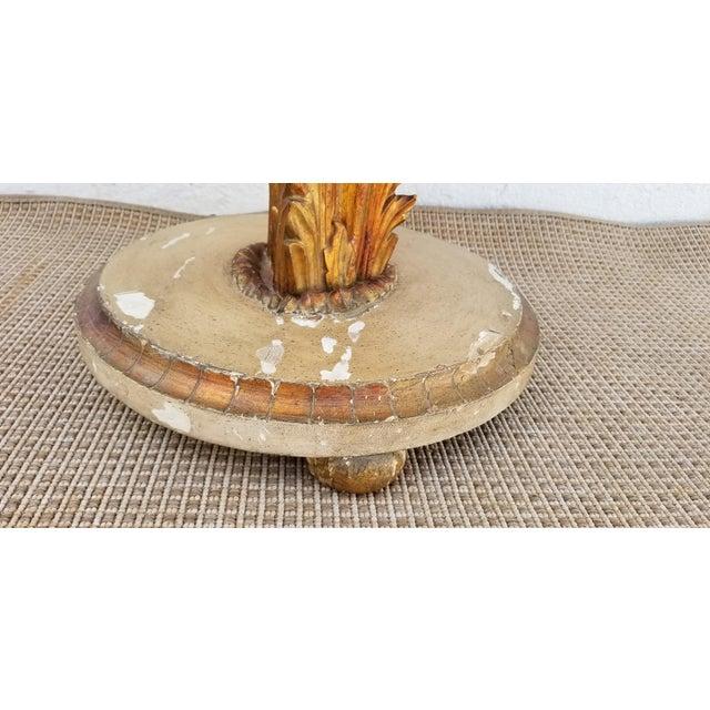 1950s Italian Neoclassical Venetian Style Table Floor Lamp For Sale - Image 10 of 12