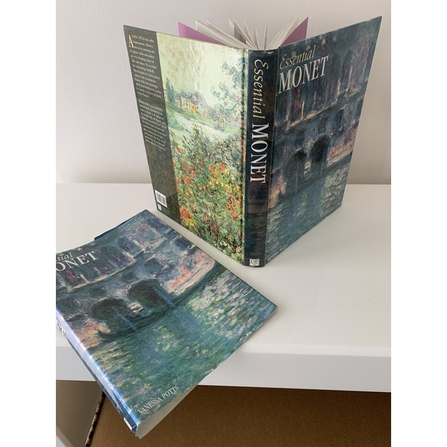 """Blue """"Essential Monet"""" Coffee Table Book For Sale - Image 8 of 9"""