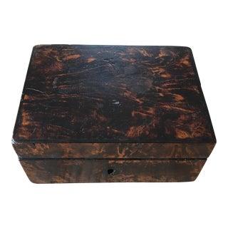 English Wood Tortoise Box