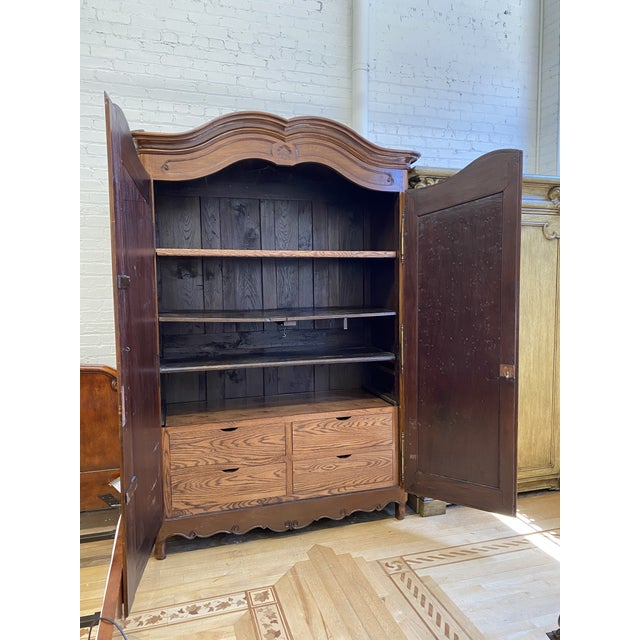 Early 20th Century French Storage Armoire For Sale - Image 4 of 13