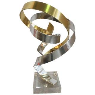 Dan Murphy Small Ribbon Sculpture For Sale