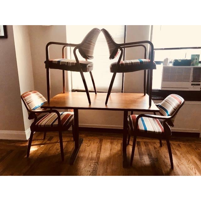 Don Pettit 1970s Knoll Mid-Century Modern Chairs - Set of 4 For Sale - Image 4 of 10