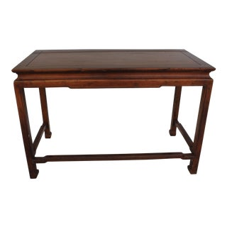 Henredon Asian Style Console Table For Sale