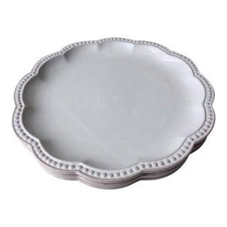 Italian Faience Mariposa Belle Provence Dinner Plates - Set of 3 For Sale