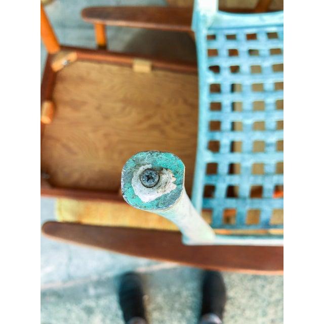 Metal Dan Johnson Brown Jordan Sol Y Luna Patio Chairs - Set of 4 For Sale - Image 7 of 12