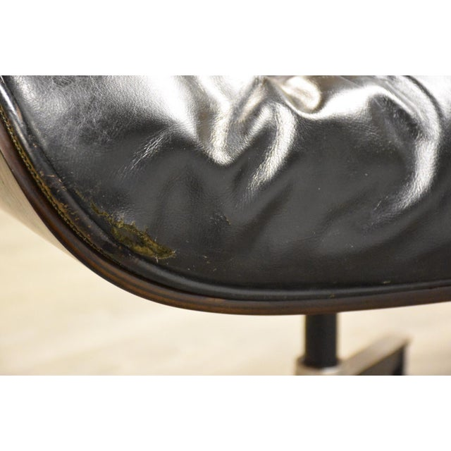 Original Herman Miller Eames Lounge Chair & Ottoman For Sale - Image 10 of 12