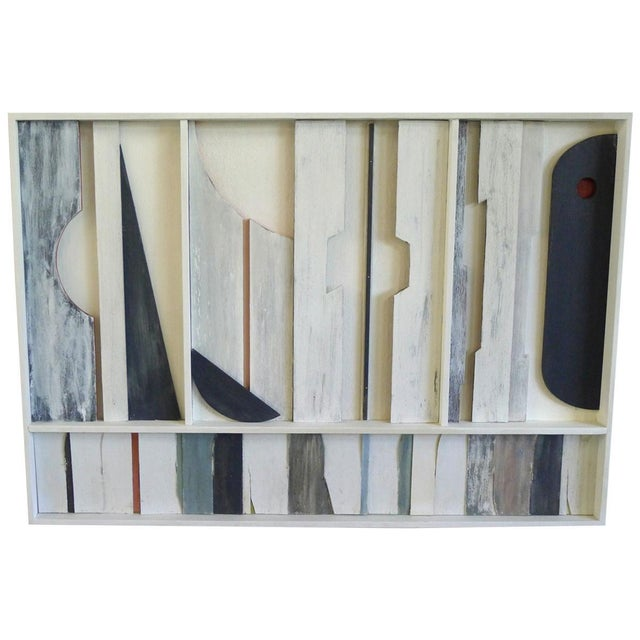 Gray Wall Sculpture Frieze Panel by Paul Marra For Sale - Image 8 of 8