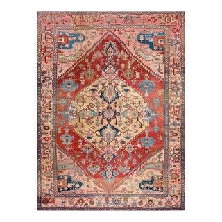 "Antique Persian Serapi Rug 10'0"" X 13'4"" For Sale"