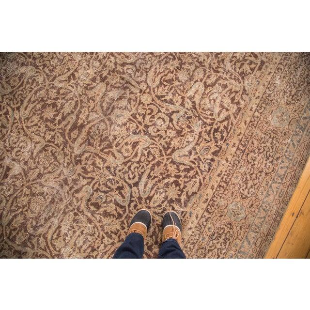 "Distressed Vintage Oushak Carpet - 8'8"" x 11'8"" - Image 2 of 7"