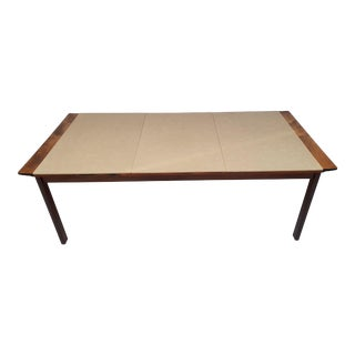 Danish Conference Table by Hans Olsen For Sale