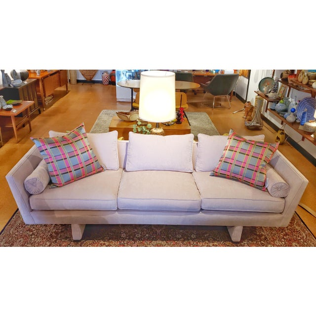 Vintage Edward Wormley Sofa 5485 for Dunbar For Sale - Image 12 of 12